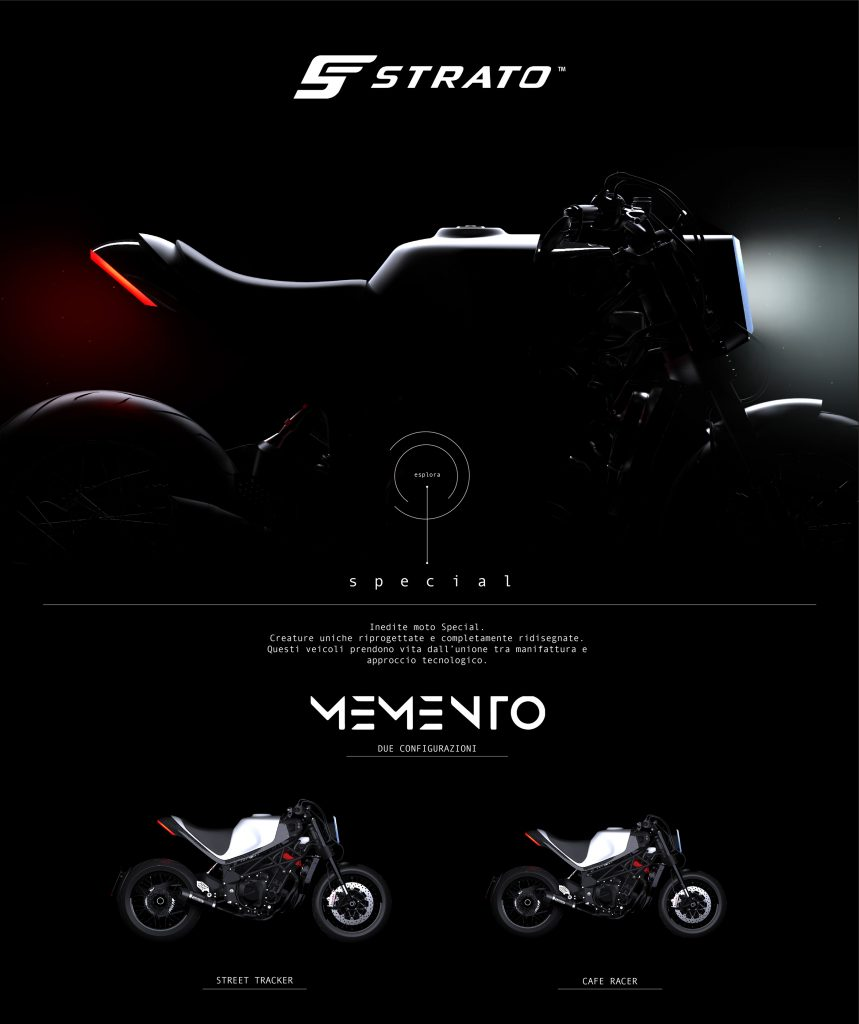 MEMENTO | STRATO Special Motorcycle Project